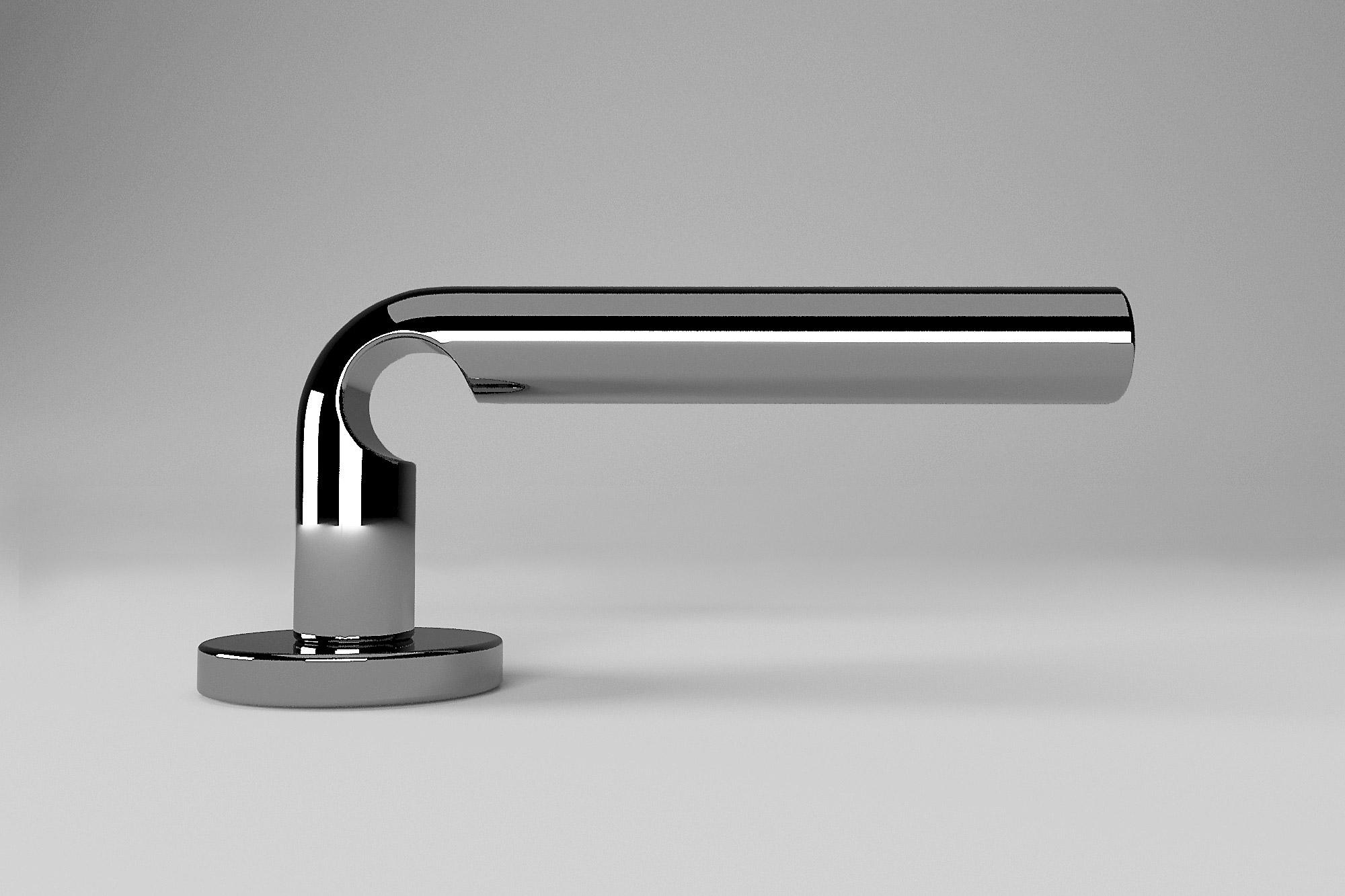 Luca Barengo, product design, maniglia String, cliente: Porro